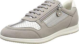 Geox D Happy a, Zapatillas para Mujer, Beige (Beige/Lt Taupe), 40 EU