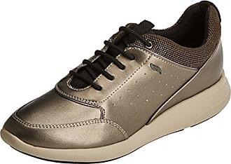 Geox D Sukie a, Zapatillas para Mujer, Negro (Black/Chestnut), 38 EU