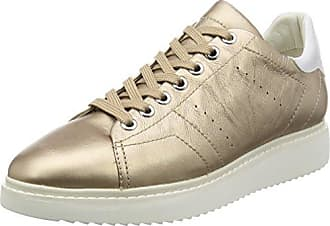 Geox D Hidence B, Zapatillas para Mujer, Gold (CHAMPAGNECB500), 36 EU