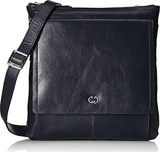 Aragonien I Shoulderbag Mvz, Womens Cross-Body Bag, Schwarz (Black), 4x24x23.5 cm (B x H T) Gerry Weber