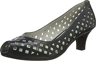 Gerry Weber Lena 10, Zapatos de Tacón con Punta Cerrada para Mujer, Azul (Dunkelblau 505), 39 EU Gerry Weber