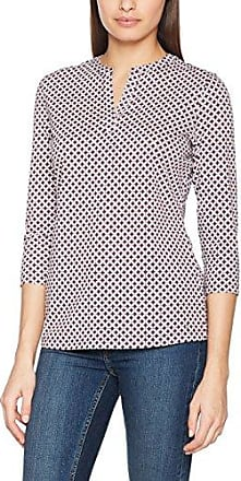 Gerry Weber 470135-44069, Camiseta de Manga Larga para Mujer, Multicolor (Blue/Red/Orange), 46