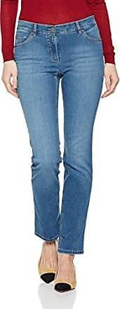 Gerry Weber 762, Vaqueros Slim (Estrechos) para Mujer, Azul (Blue Denim Mit Use), 44 W/30 L