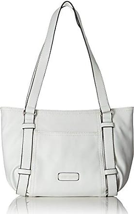 Open Mind Shopper Lhz, Womens Shoulder Bag, Weiß (White), 13x26x38 cm (B x H T) Gerry Weber