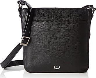 Lugo Shoulder Bag H, S 4080003606 Damen Schultertaschen 22x1x18 cm (B x H x T), Schwarz (Black 900) Gerry Weber