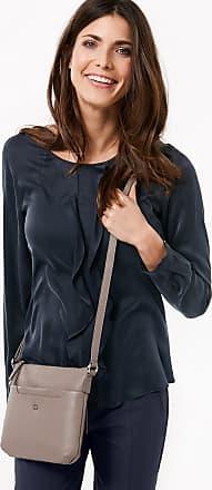 Leather shoulder bag, Paterna brown female Gerry Weber