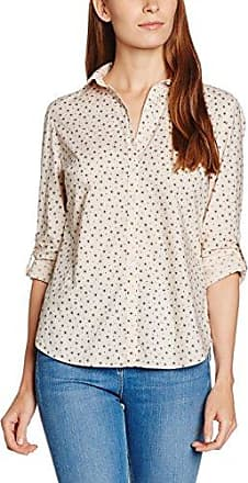 Blouse - Coupe Large Femme - Multicolore (Offwhite/Schlamm Druck 9159) - FR: 38 (Taille Fabricant: 36)Gerry Weber