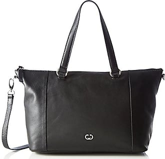 Leather shopper, Vic black female Gerry Weber