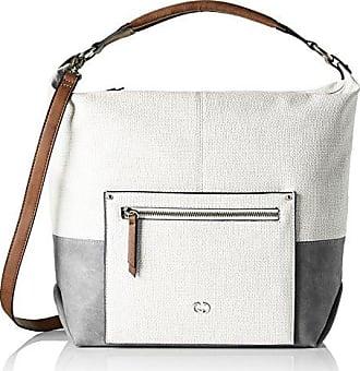 Damen Ocean City Handbag Mhz Henkeltasche, Beige (Taupe), 16x20x38 cm Gerry Weber