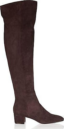 Gianvito Rossi Woman Suede Over-the-knee Boots Taupe Size 36 Gianvito Rossi