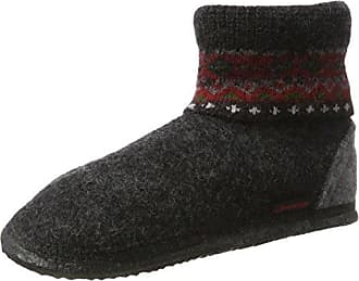 Ital-Design - Pantofole a Stivaletto Donna , nero (nero/bianco), 40 EU