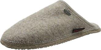 Tino 46267 - Pantuflas de fieltro unisex, color gris, talla 44 Giesswein