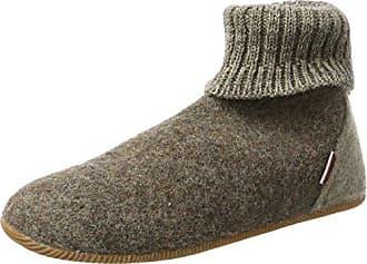Yeti Natural Wool Slipper Booties, Chaussons Montants Mixte Adulte - Beige (Cream), 43 EU (10 UK)Woolsies
