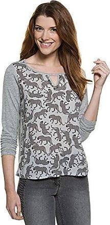 Damen T-Shirt mit Sternen und Front-Print Gina