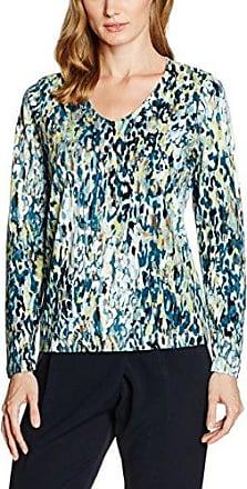 GINA LAURA Shirt Allover Print, Camiseta sin Mangas para Mujer, Multicolor (Multicolor), 46 (Talla del Fabricante: L)