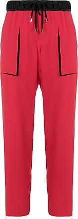 drawstring trousers - Red Giorgio Armani