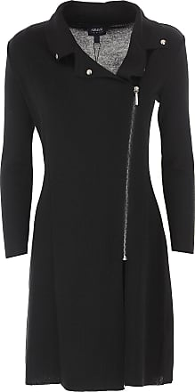 Dress for Women, Evening Cocktail Party On Sale in Outlet, Black, Wool, 2017, 10 18 Giorgio Armani