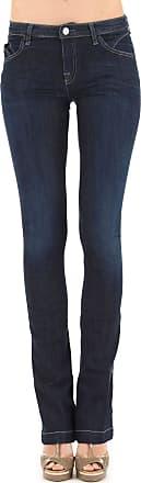 Jeans On Sale, Denim Blue, Cotton, 2017, 32 Giorgio Armani