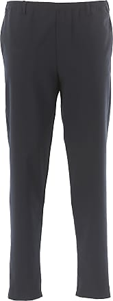 Pantalones de Hombre, Pantalón Baratos en Rebajas, Gris Mezcla Oscuro, Algodon, 2017, L M S XS Emporio Armani