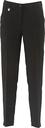 Pants for Women On Sale, Black, polyester, 2017, 26 28 30 Emporio Armani