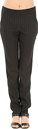 Pants for Women On Sale, Black, Virgin wool, 2017, 12 14 16 18 Giorgio Armani