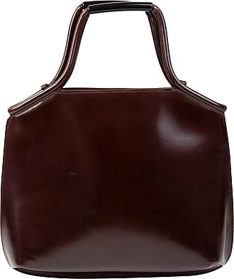 Pre-owned - Leather bag Giorgio Armani