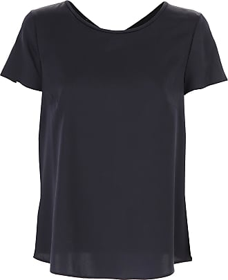 T-Shirt for Women On Sale, White, Cotton, 2017, 10 12 14 16 6 8 Giorgio Armani