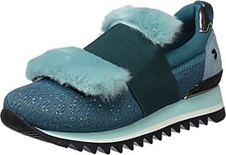 Zapatillas para Mujer, Verde (Verde 41089-P), 39 EU Gioseppo