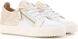 Chaussures De Sport Pour Les Femmes À La Vente, Le Lait, Le Cuir, 2017, 35,5 36 38 38,5 Giuseppe Zanotti