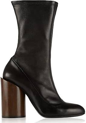 Givenchy Woman Crystal-embellished Leather Boots Black Size 38 Givenchy
