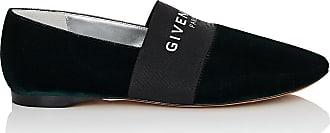 Womens Logo-Band Velvet Slippers Givenchy