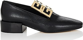 Womens Logo-Embellished Leather Loafers Givenchy