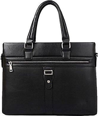 Lederhandtasche Retro-Tasche Handtasche Schultertasche Messenger Bag Einfach Wilde,Brown-OneSize GKKXUE