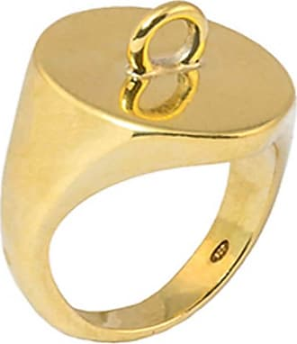 StyleRocks 9kt Rose Gold Heart Signet Ring - UK U - US 10 1/4 - EU 62 3/4