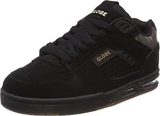 Globe Octave, Chaussures de Skateboard Homme, Noir (Black/White), 45 EU
