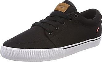 Globe Willow, Chaussures de Skateboard Homme - Noir - Schwarz (Black Hemp/Gum), 40.5 EU