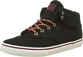 Globe Motley Mid, Unisex-Erwachsene Hohe Sneakers - Schwarz (black fur 20003), 40.5 EU (7 Erwachsene UK)
