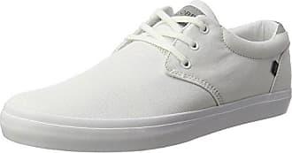 Globe Octave, Chaussures de Skateboard Homme, Blanc (White/Black/Red), 42 EU