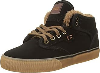 Globe Motley Mid, Chaussures de Skateboard Homme - Multicolore (Navy/Gum/Fur), 42.5 EU (8.5 UK)
