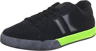Globe Lift GBLIFT, Unisex-Erwachsene Sneaker, Schwarz (black/orange 10194), EU 40.5 (UK 7) (US 8)