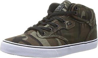 Motley mid GBMOTLEYM, Unisex - Erwachsene Sportive Sneakers, Braun (toffee/black Fur 16204), EU 48 (UK 13) (US 14) Globe