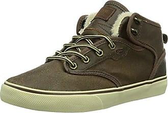 Globe Motley Mid, Unisex-Erwachsene Hohe Sneakers, Braun (17220 choco/black Fur), EU 38 (US 6)