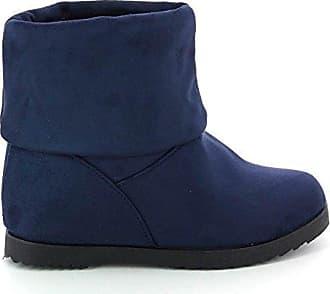 Go Tendance, Damen Stiefel & Stiefeletten , blau - blau - Größe: 37 EU