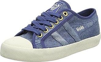 Gola Coaster, Zapatillas para Mujer, Azul (Denim/Off White EW Blue), 37 EU
