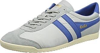 Gola Bullet Suede, Sneaker Uomo, Blu (Navy/Burnt Orange XU), 45 EU