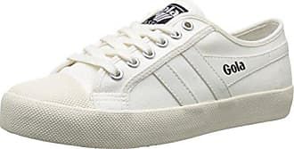 Gola Tiebreak, Zapatillas para Hombre, Hueso (Off White/Off White WW White), 45 EU