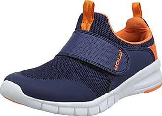 Gola Apex Lite Velcro, Zapatillas Deportivas para Interior Unisex Niños, Gris (Grey/White/Lime), 25 EU
