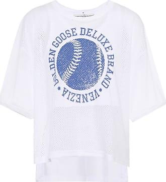 Cotton Linen T-shirt Spring/summer Golden Goose