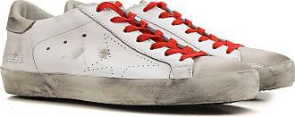 Sneaker Homme Pas cher en Soldes, Citron Vert, Cuir, 2017, 41Golden Goose