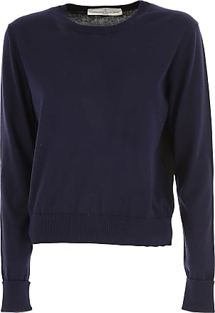 Sweater for Men Jumper On Sale, Midnight Blue, Cotton, 2017, L M XL Golden Goose